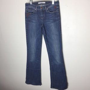 Joe's Blue Boot Distressed Boho HighRise Jeans B-2